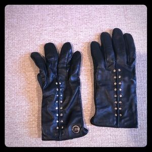 Leather Micheal Kors Gloves